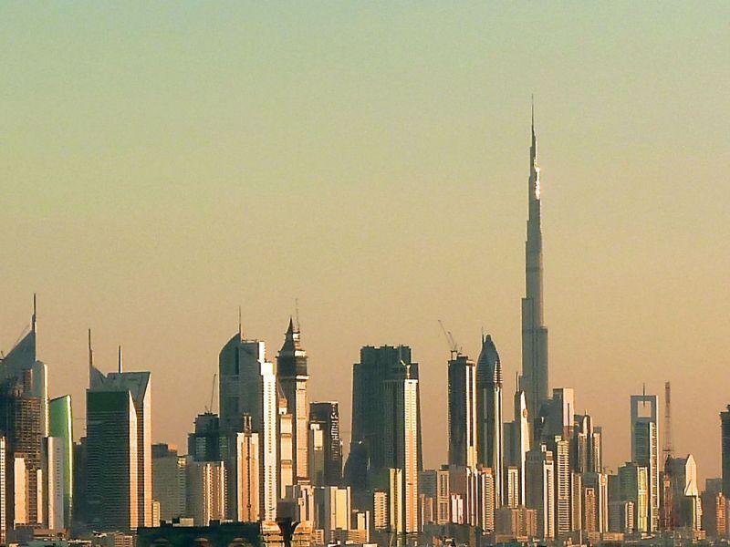 The skyline in Dubai. Photo: Wikimedia Commons, Chronus