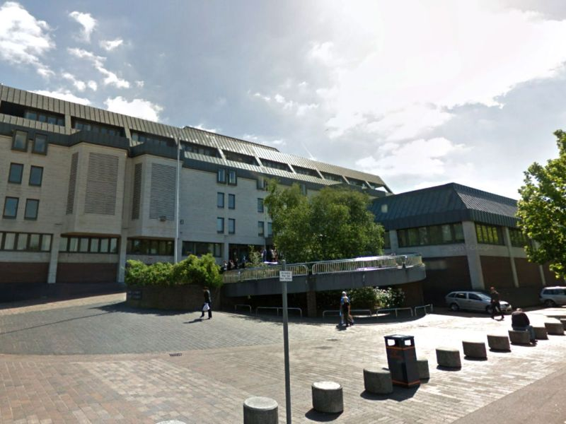 Maidstone Crown Court in Kent, England. Photo: Google Maps