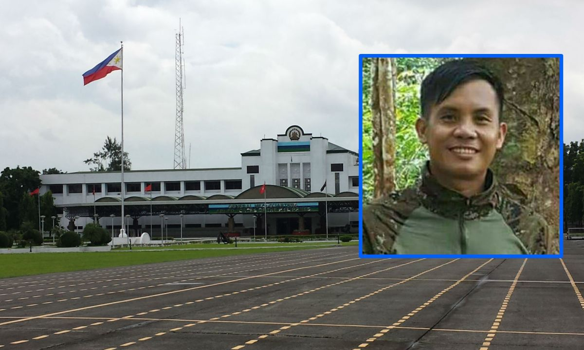 The Armed Forces of the Philippines has given its Medal of Valor award to the late Capt Rommel Sandoval (seen inset). Photos: Wikimedia Commons, Lt Jin Panganiban, Philippine Defense Forces Forum