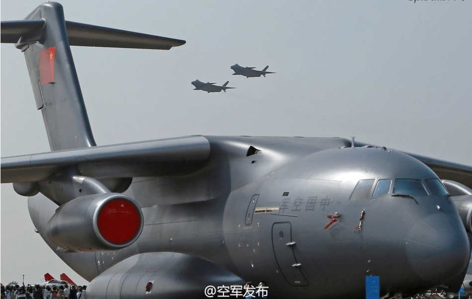 The Chinese military is developing an aerial-refueling version of its  Y-20. Photo: PLAAF