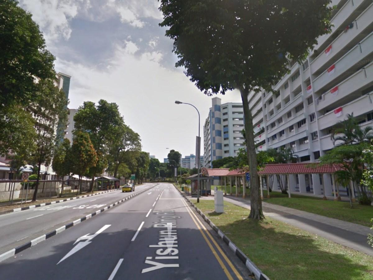 HDB estates on Yishun Ring Road in Singapore. Photo: Google Maps