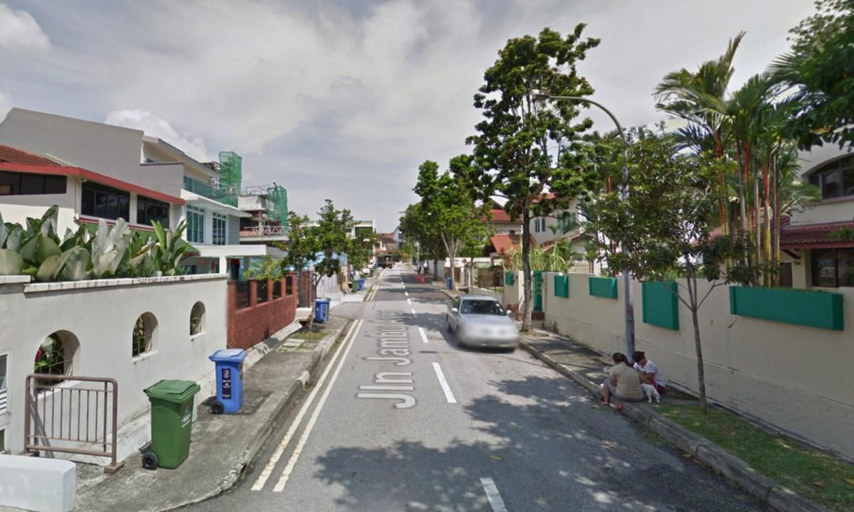 Jalan Jambu Ayer in Bukit Timah, Singapore. Photo: Google Maps