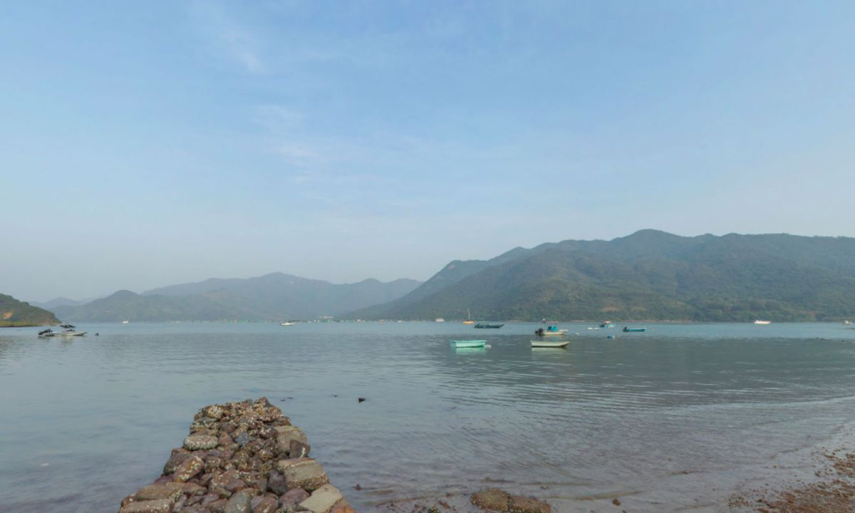 The waters off Sai Kung in the New Territories, where the search was launched. Photo: Google Maps