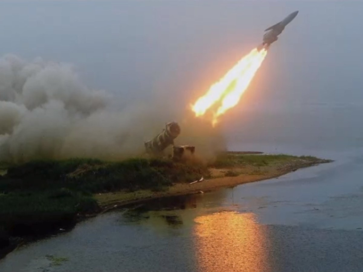 Russia's 3M22 Zircon anti-ship hypersonic missile. Screen grab: Military Technology Zone/ YouTube