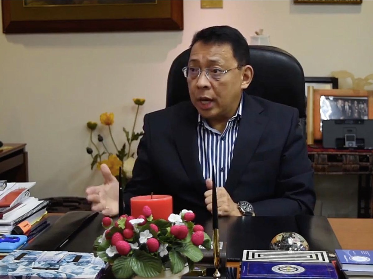 Diwa Guinigundo, the deputy governor of the Philippine's Central Bank, talks to Asia Times. Photo: Asia Times
