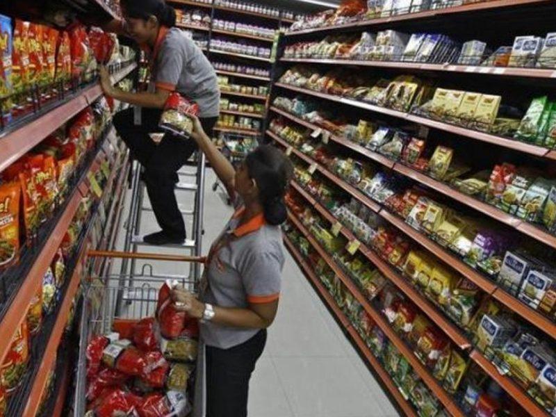 印度超级市场 相片:路透社
