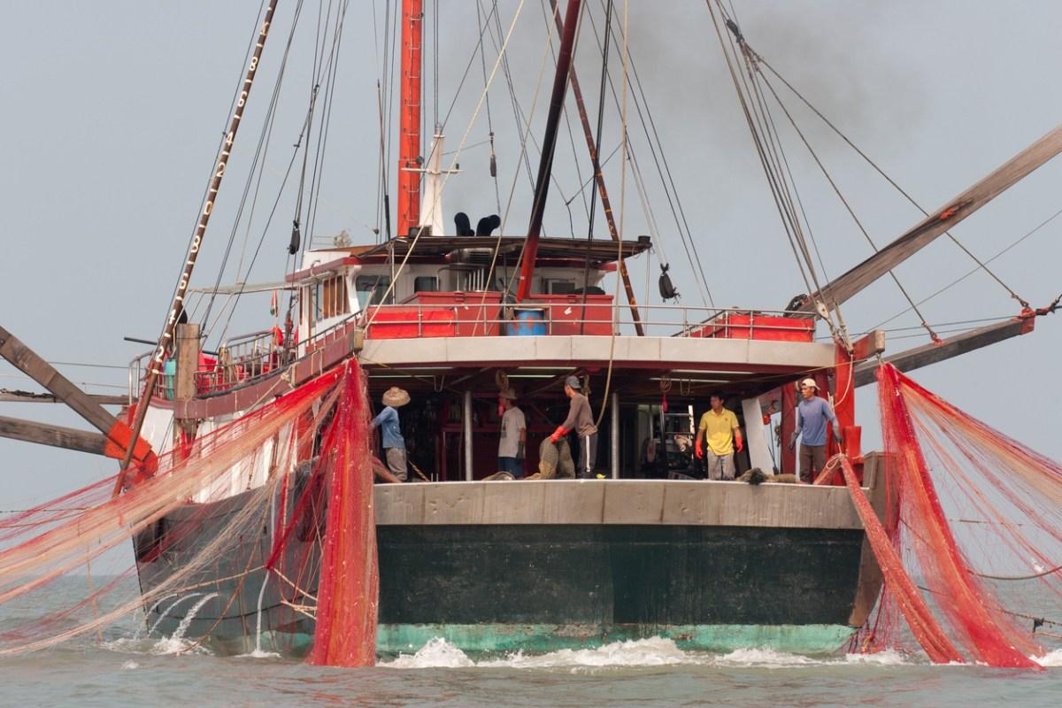A fishing trawler at Tai O, Hong Kong. Photo: iStock.