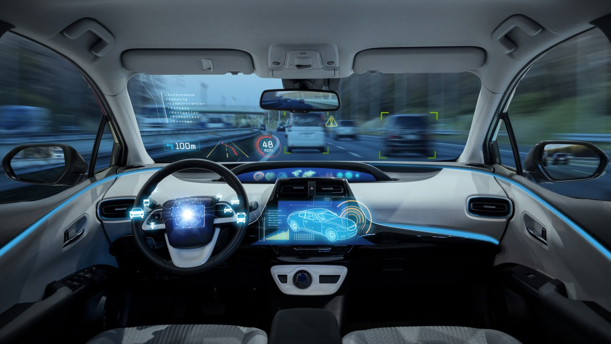 Self-driving car. Photo: iStock