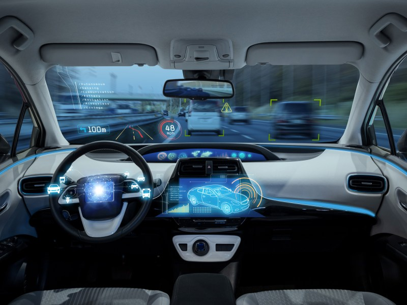 Self-driving car. Photo: iStock