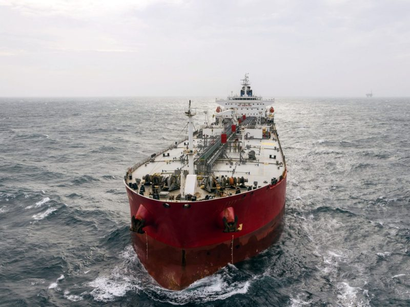A file shot of an oil tanker on the high seas. The US fears China may have secretly helped North Korea evade UN sanctions on oil trading. Photo: iStock