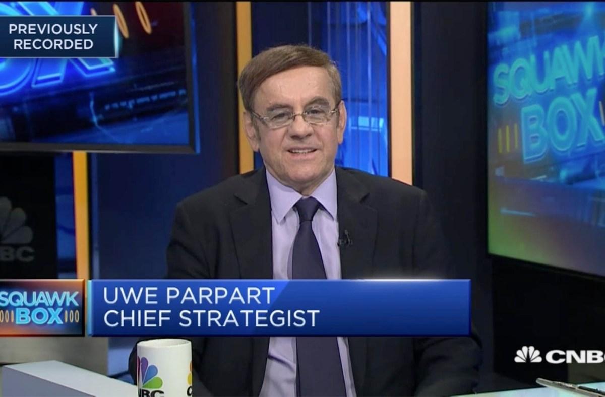 Capital Link International chief strategist Uwe Parpart. Photo: CNBC screen grab