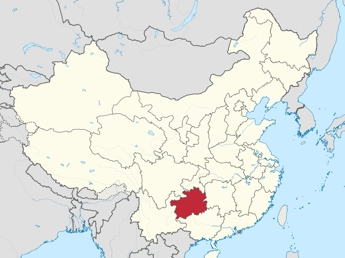 Guizhou is in southwestern China with cheap land, labor and electricity and cool climate.