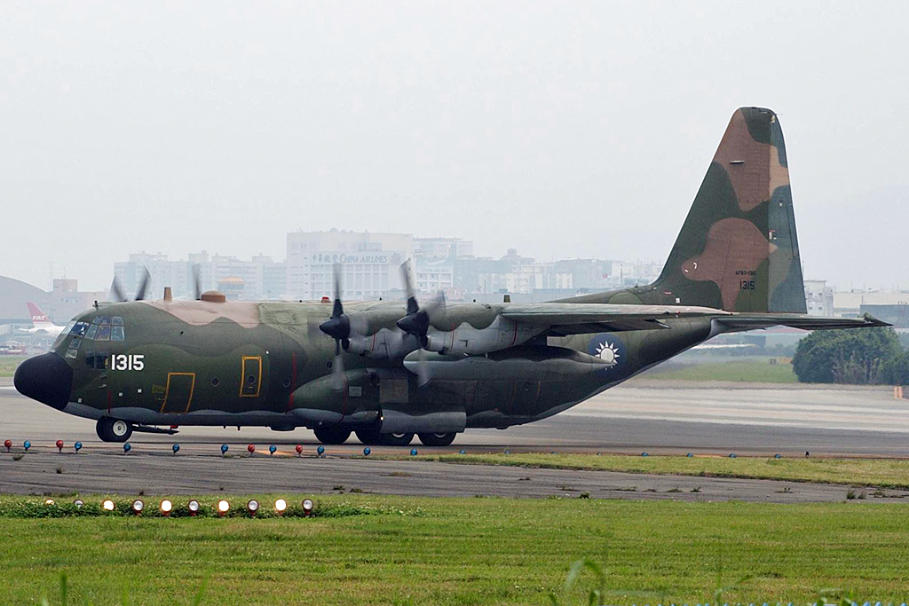 A C-130 Hercules of the Taiwanese Air Force. Photo: Steven Byles / WikiMedia