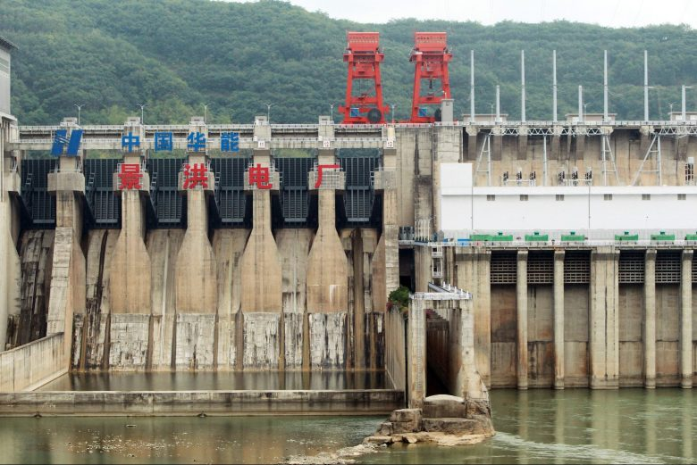 The Jinghong Hydropower Station on the Lancang River, the Chinese part of the Mekong River, in Jinghong city, Xishuangbanna Dai Autonomous Prefecture, southwest China's Yunnan province. Photo: AFP Forum