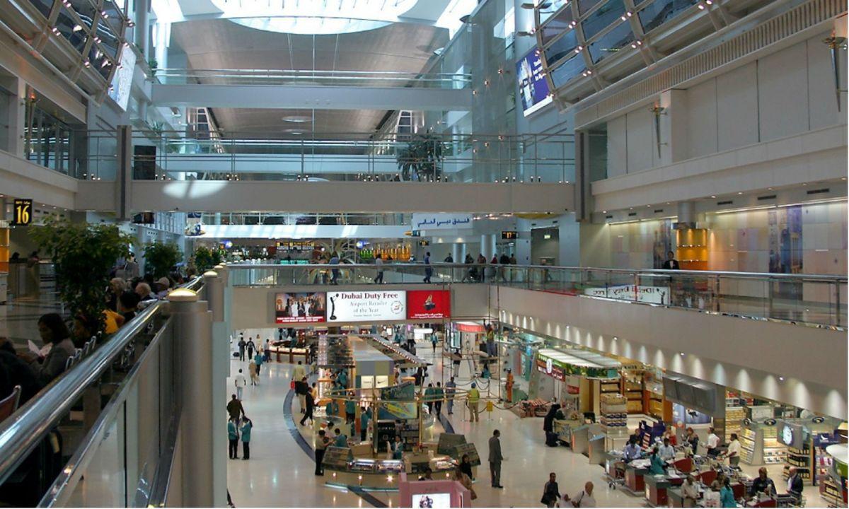 Dubai International Airport. Photo: Wikimedia Commons