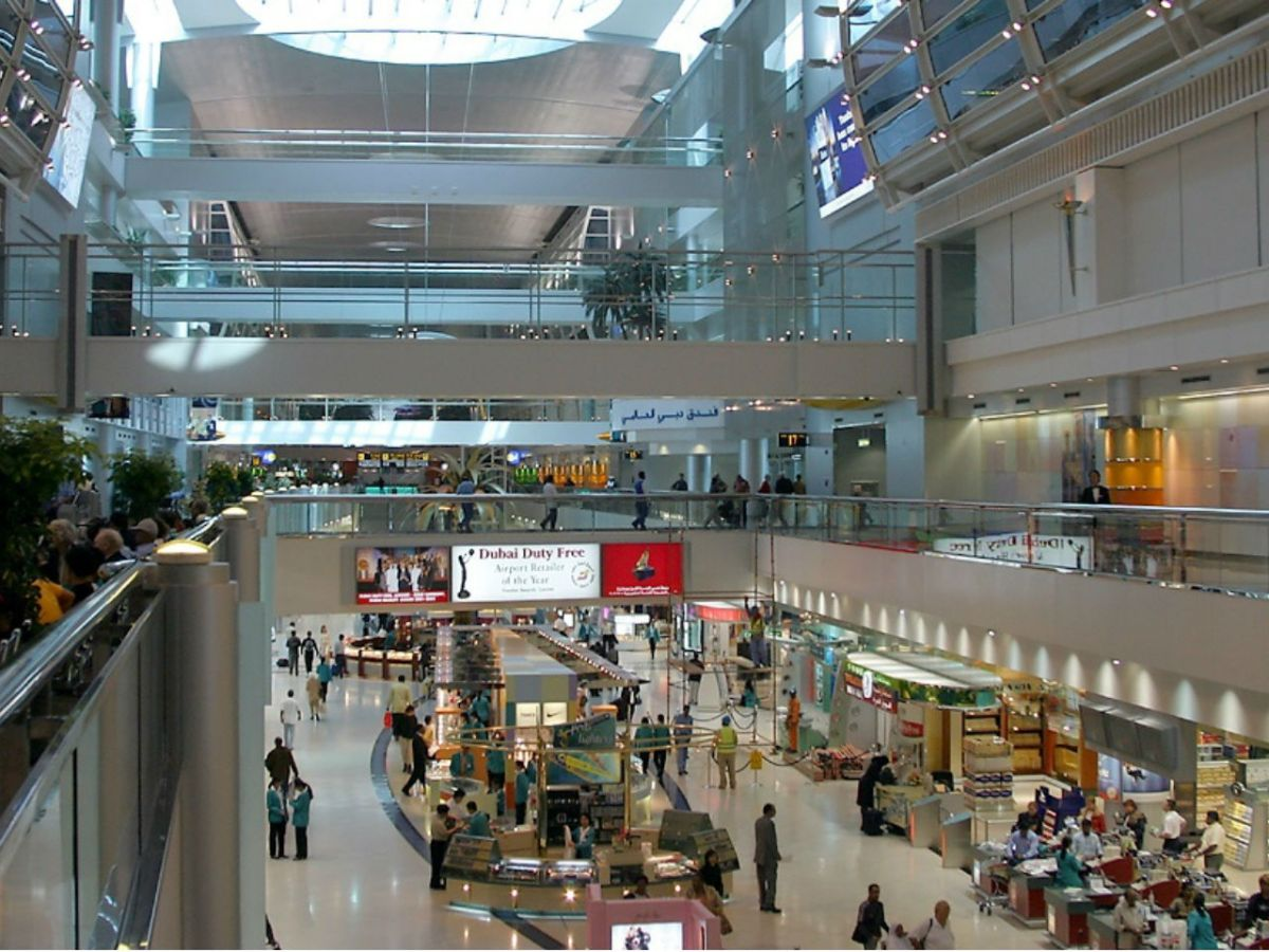 Dubai International Airport. Photo: Wikimedia Commons