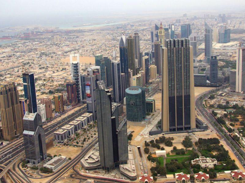 The city of Dubai, one of the United Arab Emirates. Photo: Wikimedia Commons, Tim Tregenza