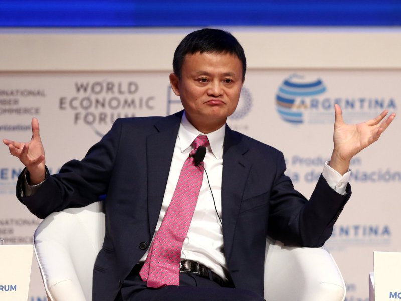 Jack Ma managed to sort out a deal with MoneyGram but not the one he wanted.  Reuters / Marcos Brindicci