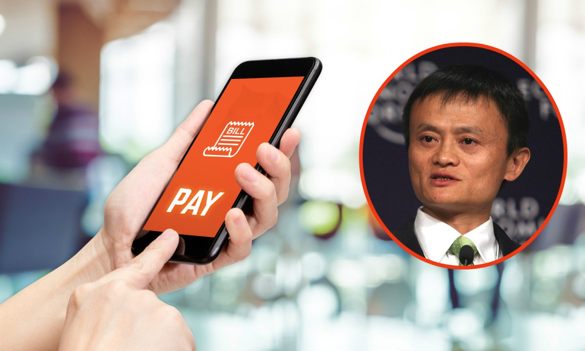 Jack Ma gave Alipay a miss when paying for his bill in a bar. Photo: iStock / Flickr