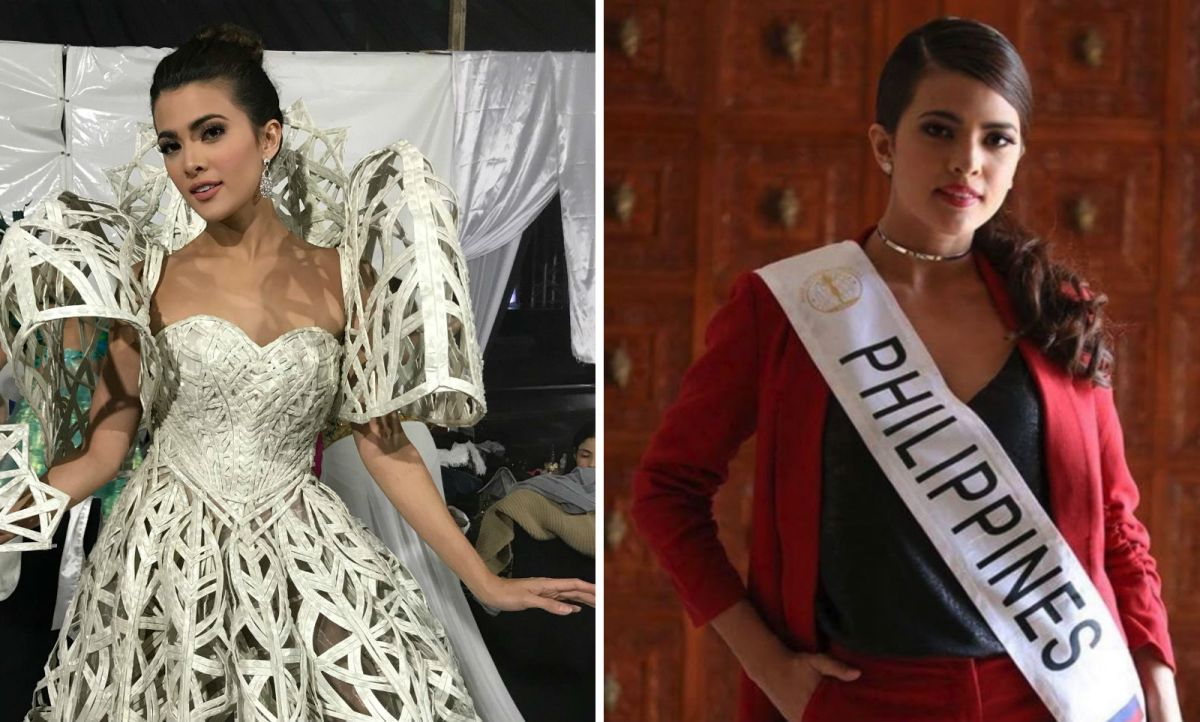 Katarina Rodriquez represented the Philippines in the Miss Intercontinental pageant. Photos: Facebook (Miss Intercontinental), Instagram (Katarina Rodriquez)