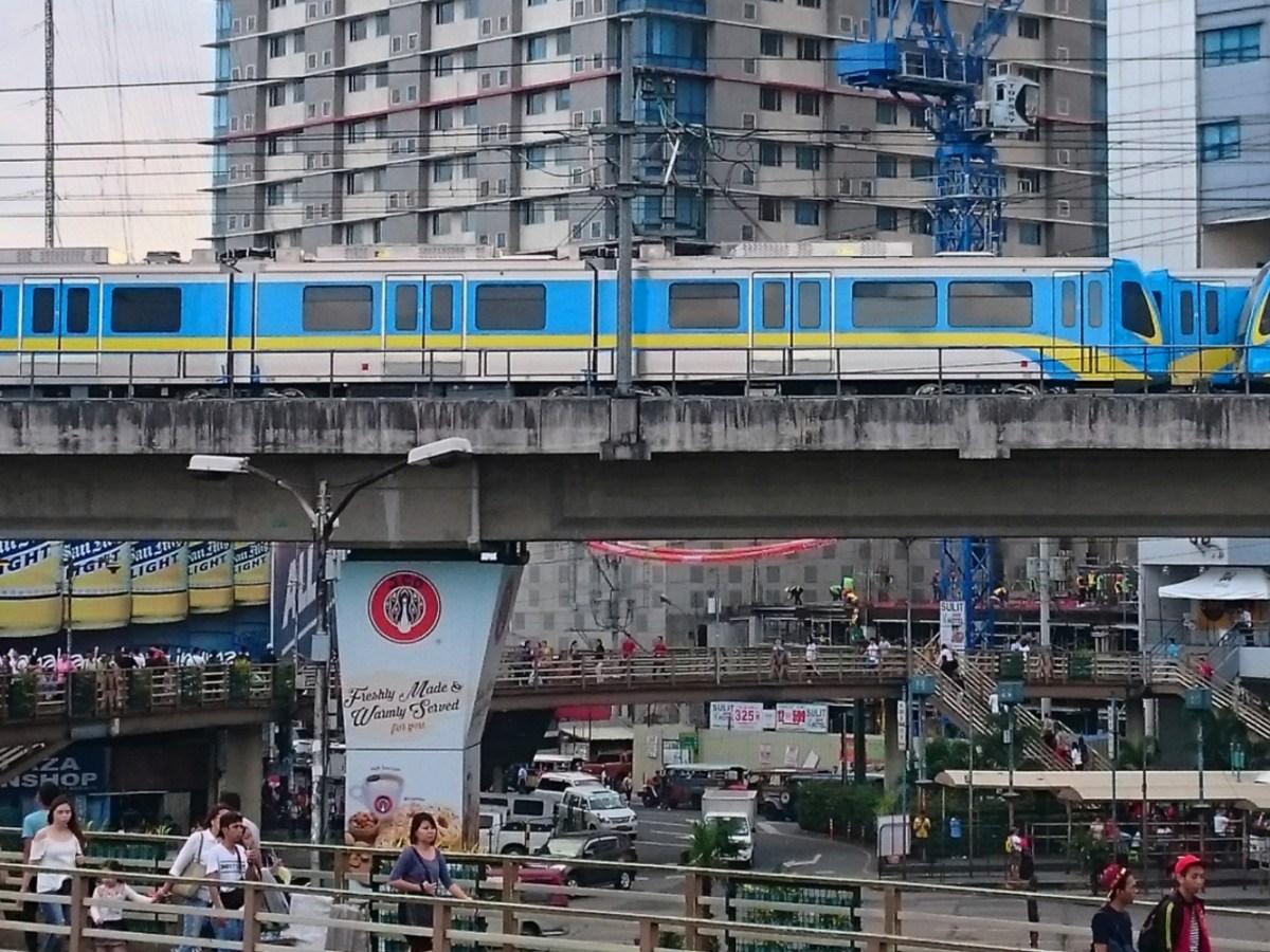 Manila Metro Rail Transit (MRT). Photo: Wikipedia Commons