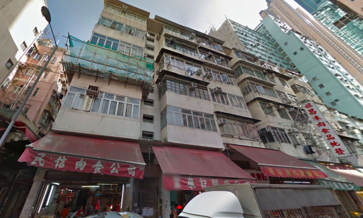 Mong Kok, Kowloon. Photo: Google Maps