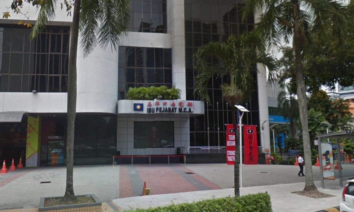 Malaysian Chinese Association in Kuala Lumpur. Photo: Google Maps