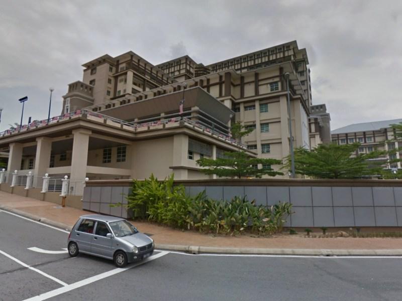 Shah Alam Hospital in Selangor, Malaysia. Photo: Google Maps