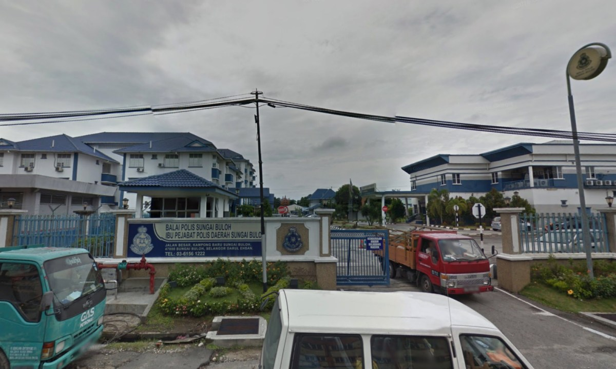 Sungai Buloh police station in Selangor, Malaysia. Photo: Google Maps