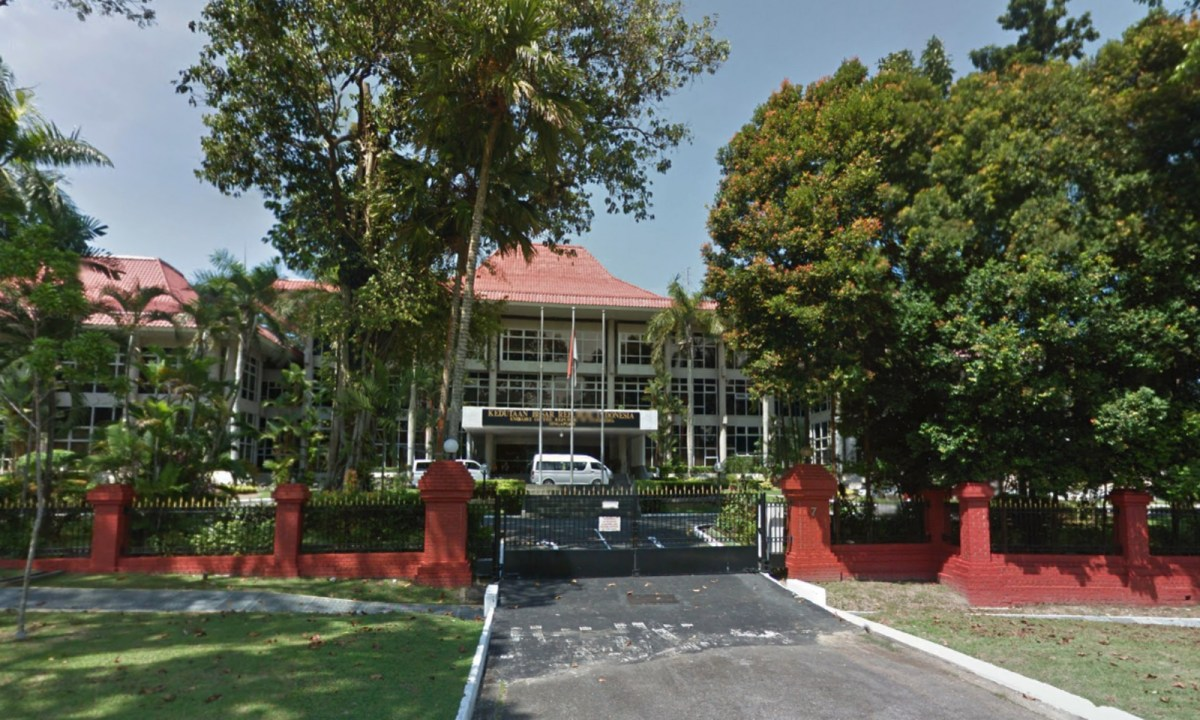 The Indonesian Embassy on 7 Chatsworth Road, Singapore. Photo: Google Maps