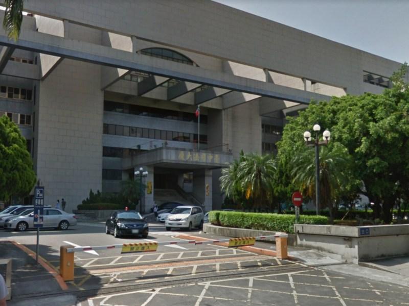 Taiwan Taichung District Court in Taichung, Taiwan. Photo: Google Maps