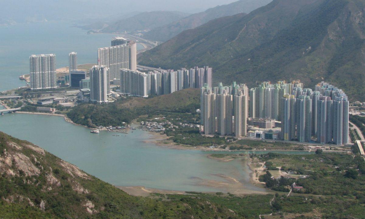 Tung Chung, Hong Kong. Photo: Wikimedia Commons, Dennis Y.C. Wong