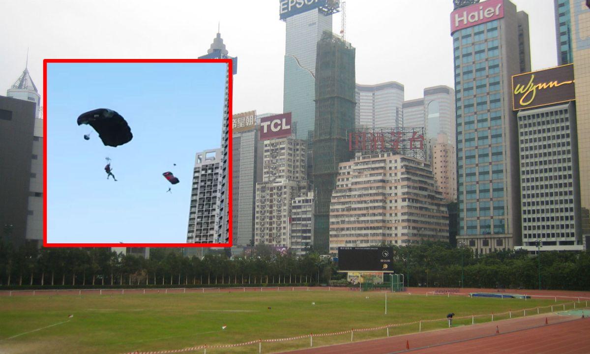 Wan Chai Sports Ground on Hong Kong Island Photo: Wikipedia, HoneyBee, YouTube