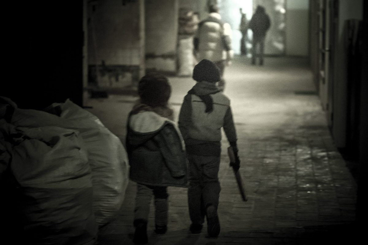Children on street Photo: iStock