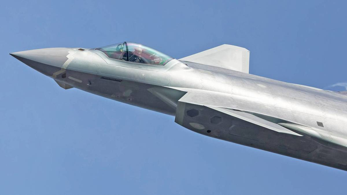 China has based J-20 Photo: Getty Images