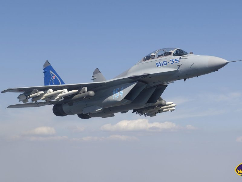 More MiG-35s will roll off the assembly line this year, shoring up prospects of Russian warcraft makers. Photo: Mikoyan