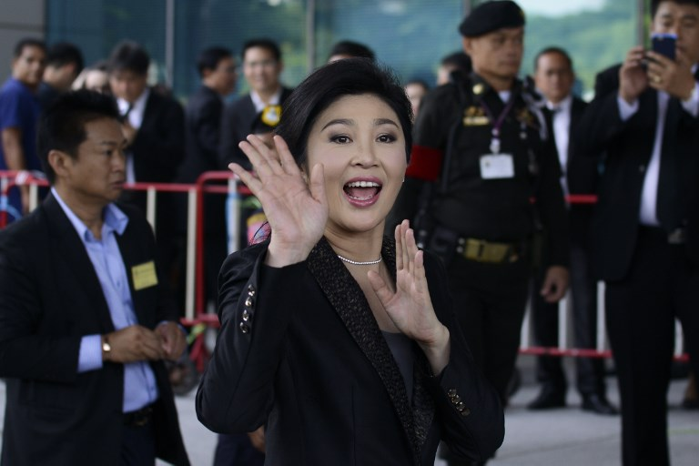 Former Thai prime minister Yingluck Shinawatra. Photo: Laowilas/NurPhoto
