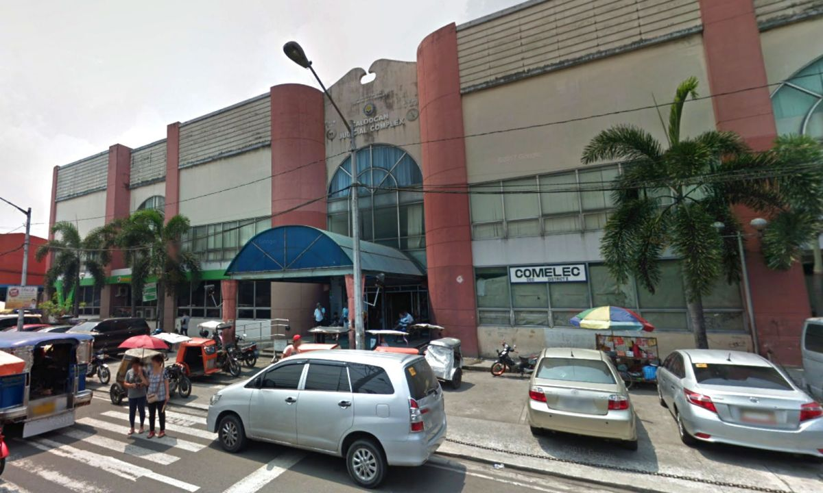 Caloocan Judicial Complex. where the Regional Trial Court is located, in Caloocan City, Philippines. Photo: Google Maps