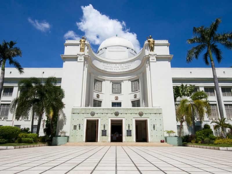 The Provincial Capitol of Cebu in the Philippines. Photo: Wikimedia Commons, r	Andrewhaimerl
