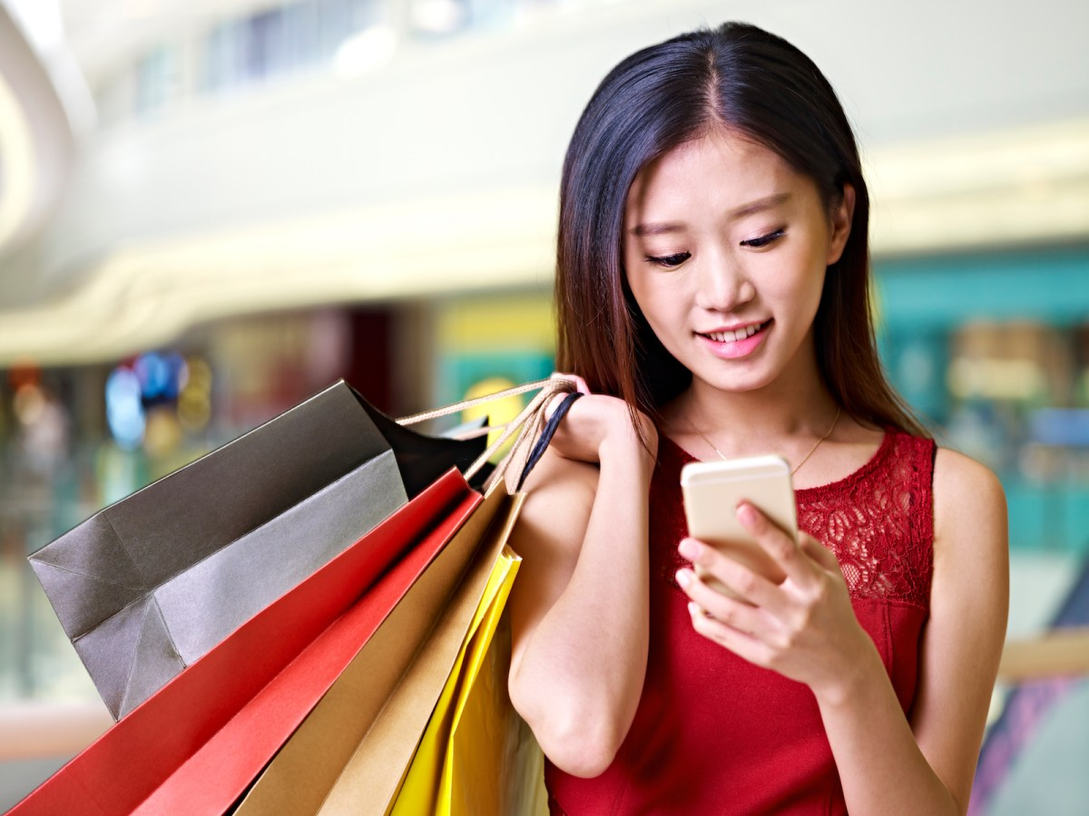 Online shopping in China is being driven by smart solutions. Photo: iStock