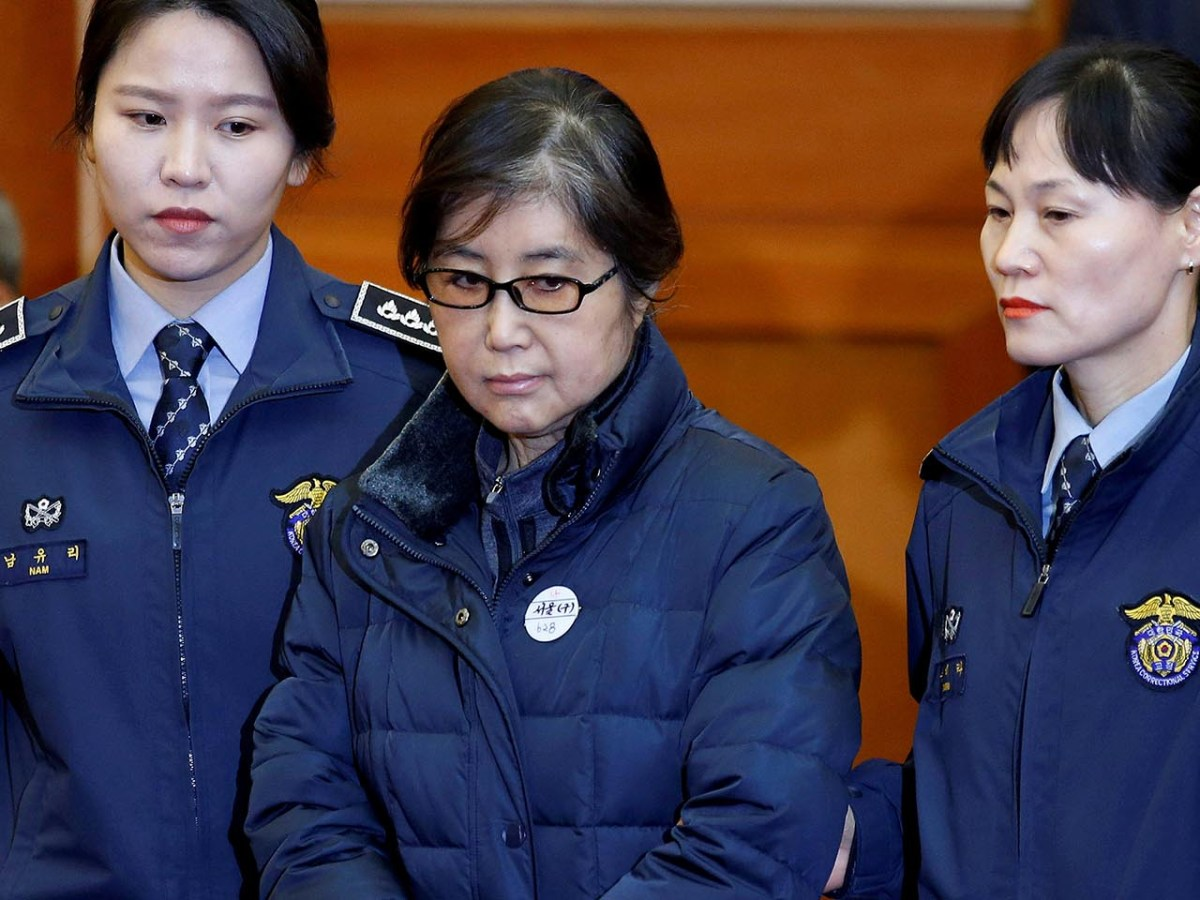 Choi Soon-sil received a 20-year jail sentence for her part in the impeachment scandal.  Photo: Reuters/Kim Hong-Ji/File Photo