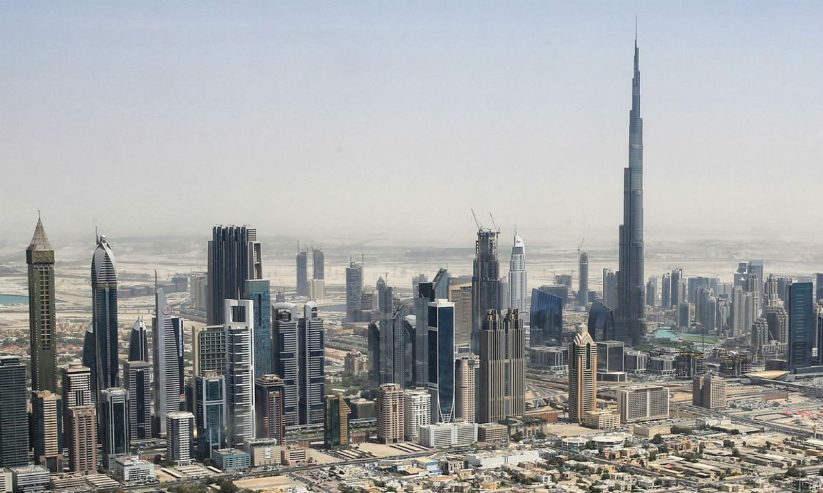 Dubai in the United Arab Emirates. Photo: Wikimedia Commons, Tim.Reckmann