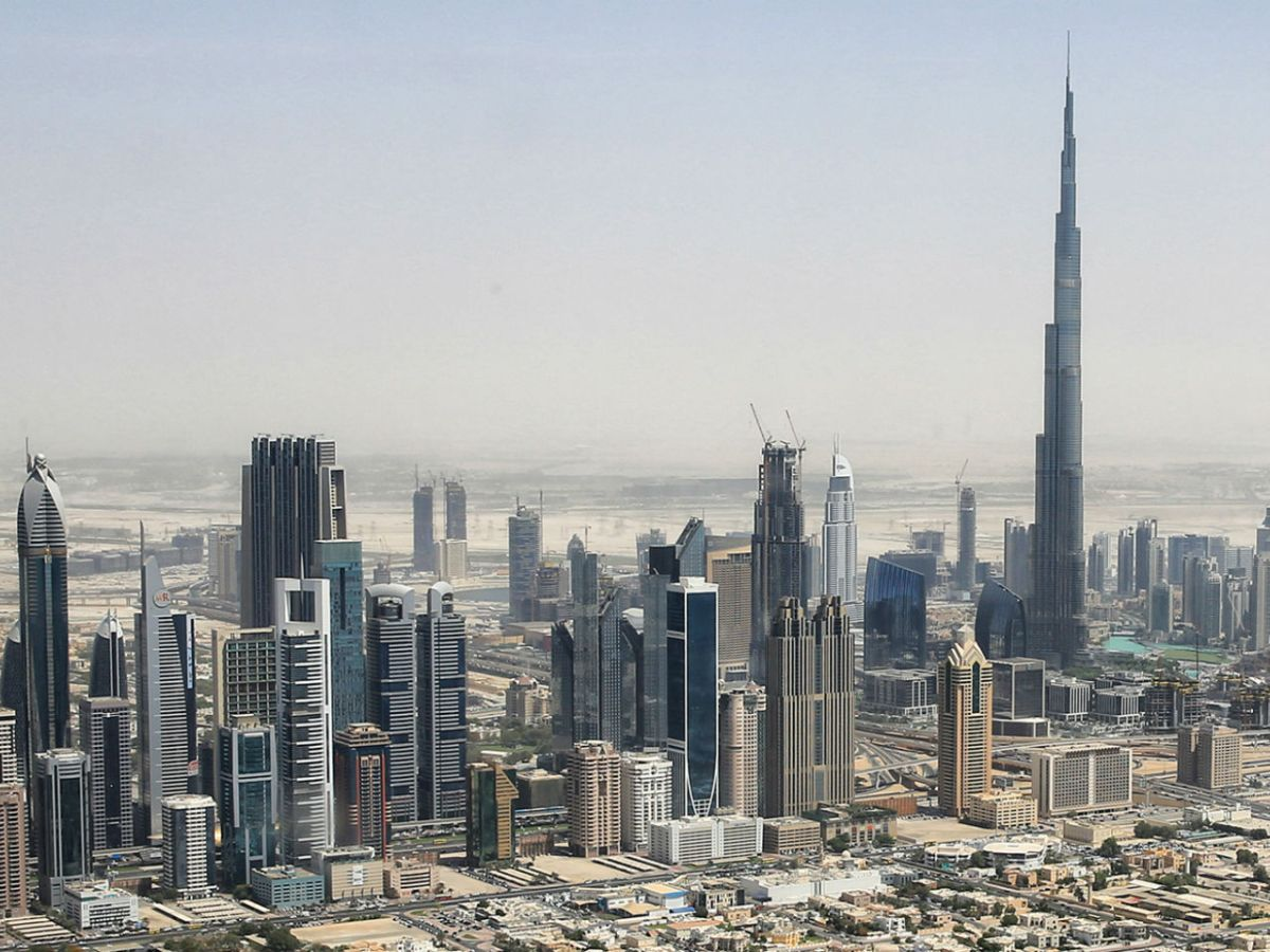 Dubai in the United Arab Emirates. Photo: Wikimedia Commons, Tim.Reckmann