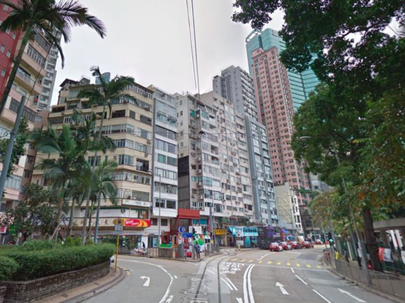 Happy Valley, Hong Kong Island. Photo: Google Maps