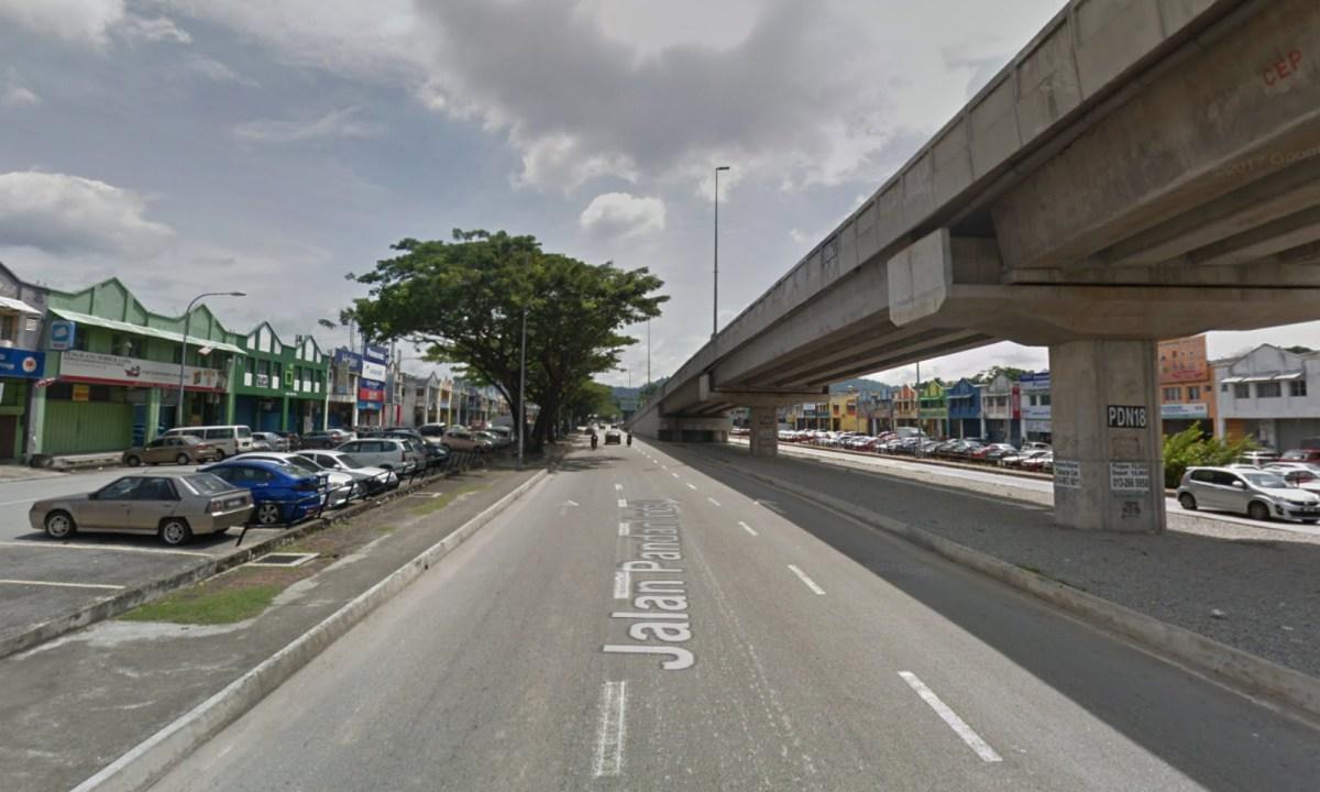 The industrial area of Pandan Indah, Ampang, Selangor, Malaysia. Photo: Google Maps