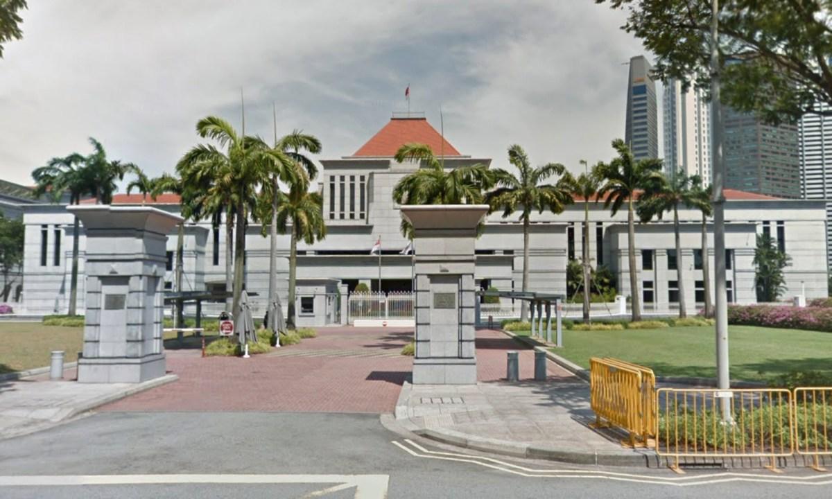 Parliament of Singapore. Photo: Google Maps