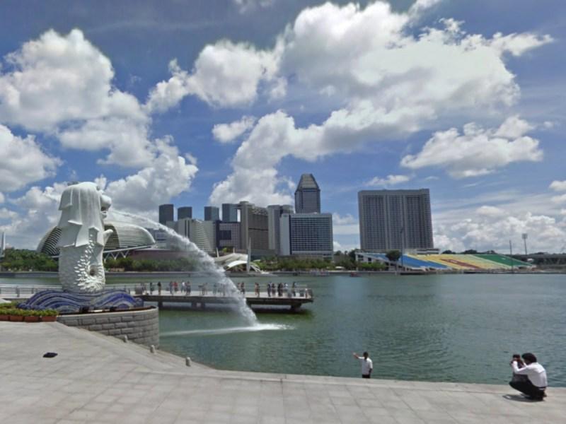 Fullerton Heritage Promenade, Singapore. Photo: Google Maps