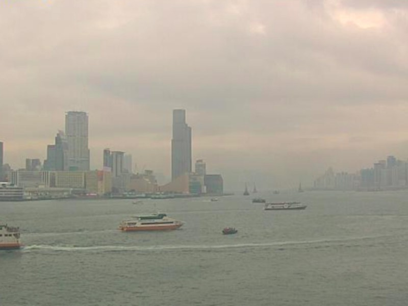 Victoria Harbour, Hong Kong. Photo: The Observatory