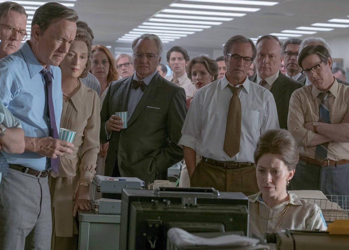 A still from the Steven Spielberg movie 'The Post' that was released in 2018. Photo: Courtesy Fox Movies