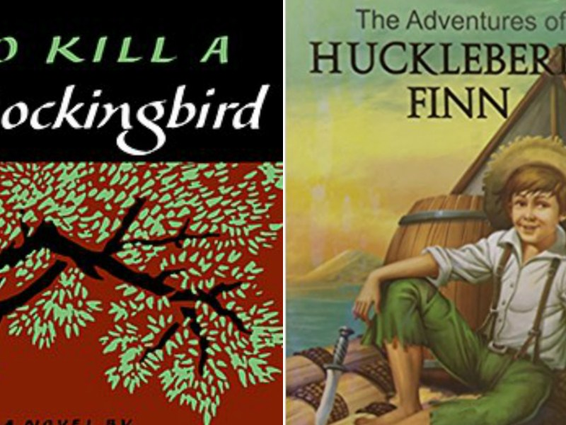 Harper Lee's 'To Kill a Mockingbird' and Mark Twain's 'Huckleberry Finn' were banned by Minnesota schools over alleged racial slurs. Photo: Amazon.com